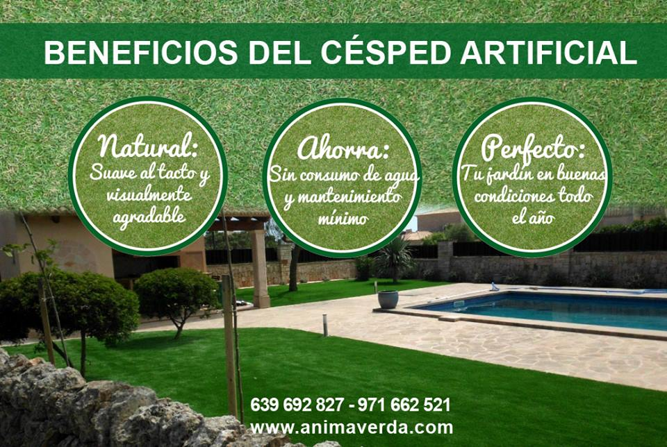 beneficios cesped artificial