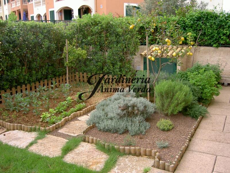 Creaci n de huertos jardineria nima verda for Jardineria la noguera